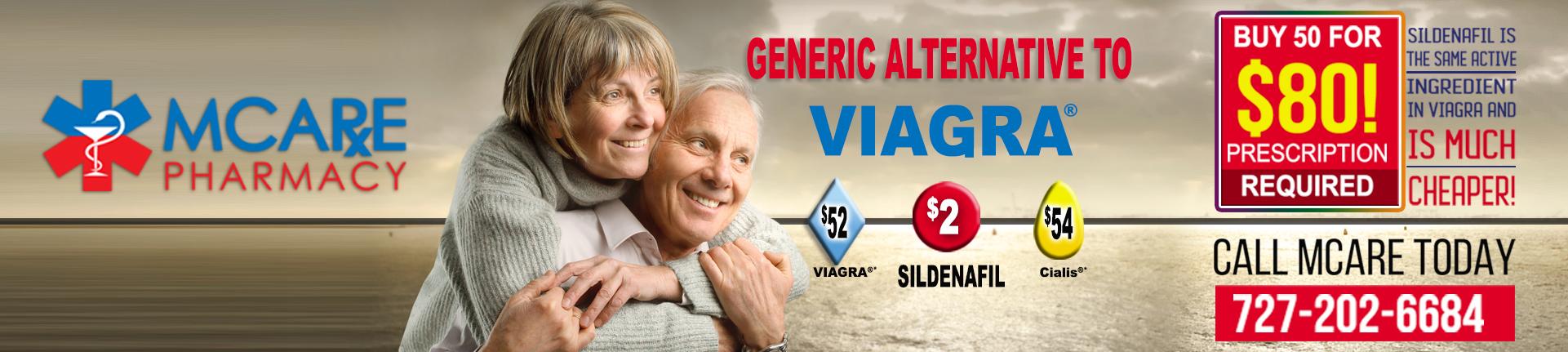 GENERIC ALTERNATIVE TO VIAGRA WEBSITE BANNER FINAL